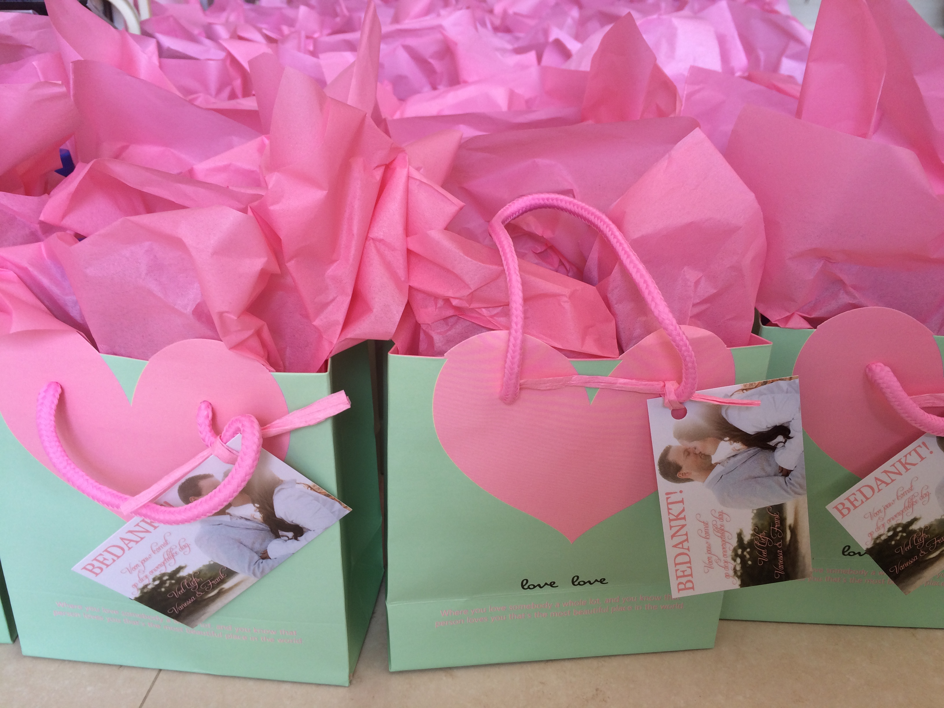 Goodiebags/ traktaties